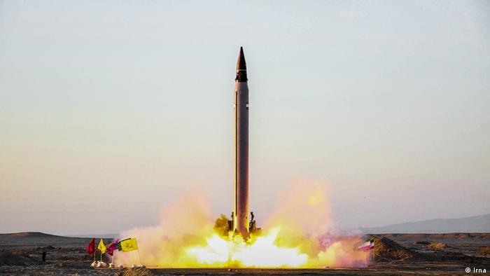 Випробування іранської ракети Emad