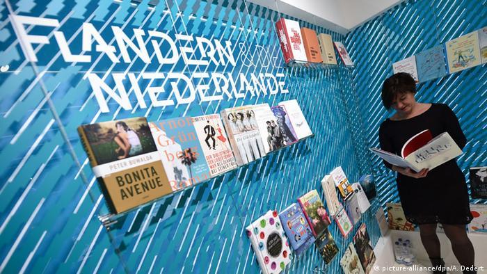 Frankfurter Buchmesse Stand Flandern und Niederlande (picture-alliance/dpa/A. Dedert)