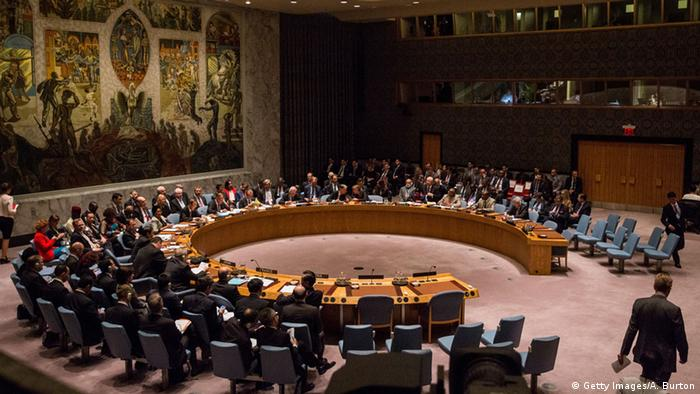 UN Sicherheitsrat der Vereinten Nationen