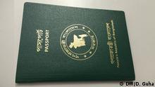 Pass Ausweis Bangladesch Reisepass