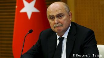 Turkey's Foreign Minister Feridun Sinirlioglu
