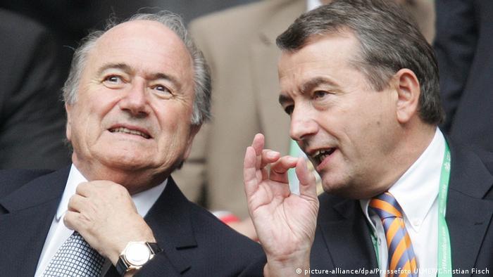 Josef Blatter und Wolfgang Niersbach