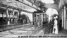 Wuppertal Schwebebahn 1912 ARCHIV