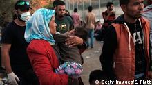 Griechenland - Registrierungsstelle für Flüchtlinge auf Lesbos