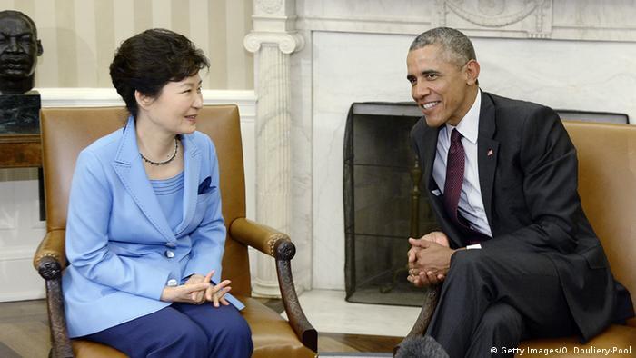 USA - Barack Obama trifft Park Geun-hye