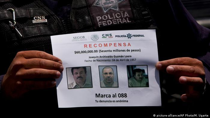 Mexiko Fahndung nach Drogenboss El Chapo