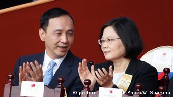 Taiwan präsidentschaftswahl Eric Chu Tsai Ing-wen