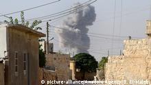 Syrien Russischer Luftangriff in Aleppo