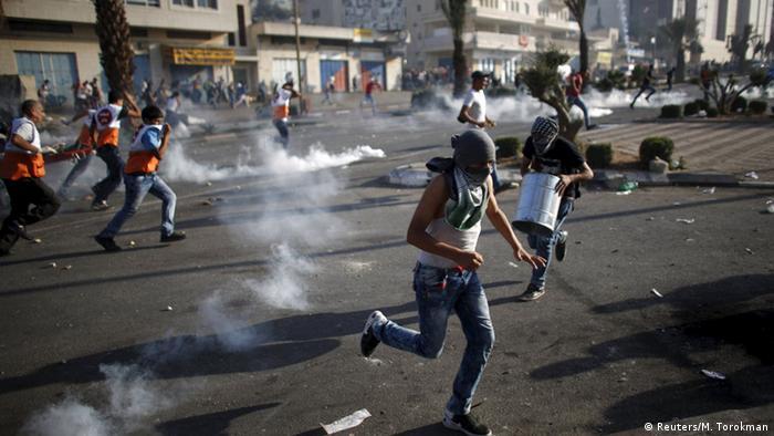 Israel Palestinien Zusammenstößen Proteste