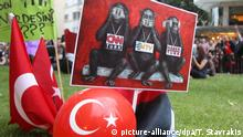 Türkei Demonstration Pressefreiheit
