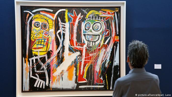Basquiat's painting Dustheads was auctioned for 43 million euros in 2013