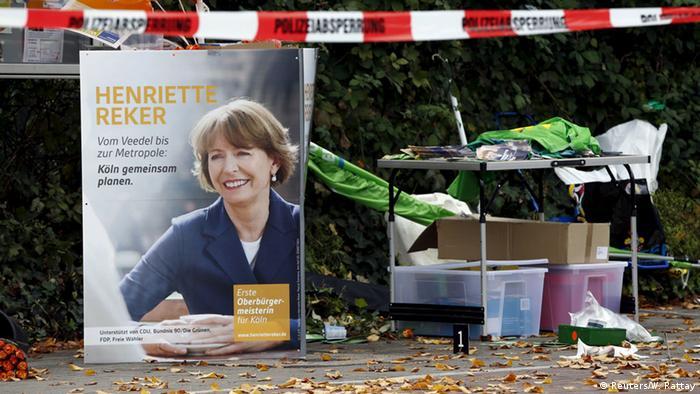 Köln Messerattacke auf OB-Spitzenkandidatin Henriette Reker