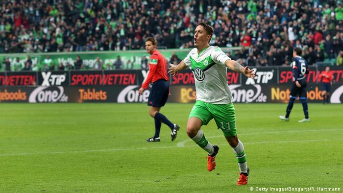 Bundeliga Fussball VfL Wolfsburg vs. 1899 Hoffenheim