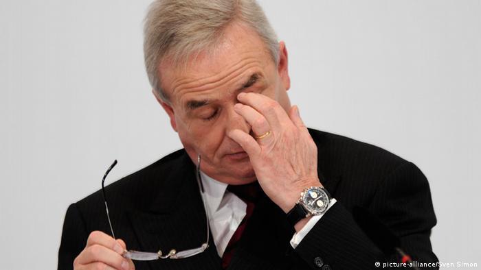 Former VW CEO Martin Winterkorn