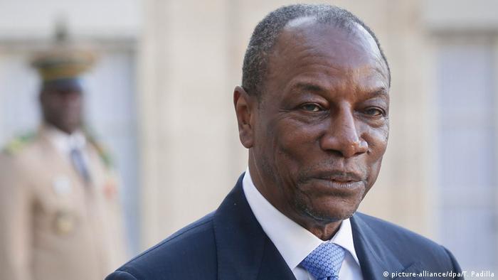 Le président Alpha Conde est au pouvoir depuis 2010