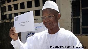 Guinea Wahlen Alpha Conde (Getty Images/AFP/C. Binani)