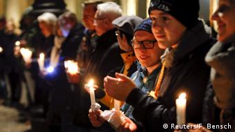 Berlin rally for refugees