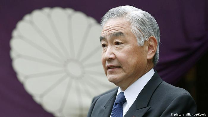 Japan Yasukuni Schrein Besuch Justizminister Mitsuhide Iwaki