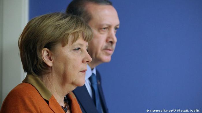 Ankara Merkel Erdogan Symbolbild