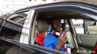 Tansania Wahlen Partei CHADEMA Cosmas Mtei (Foto: DW/Elizabeth Shoo)