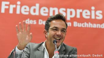 Frankfurt PK Verleihung des Friedenspreises des Deutschen Buchhandels Navid Kermani