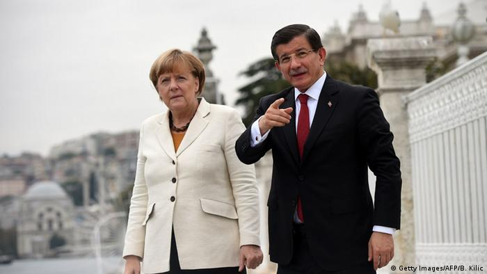 Istanbul Besuch Merkel Davutoglu