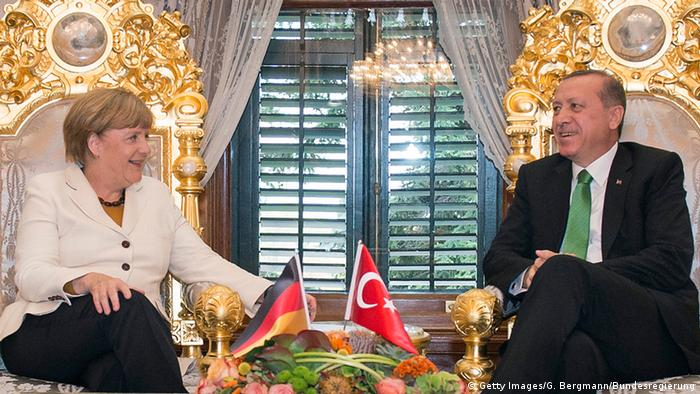 Türkei Istanbul Besuch Merkel mit Erdogan NEU