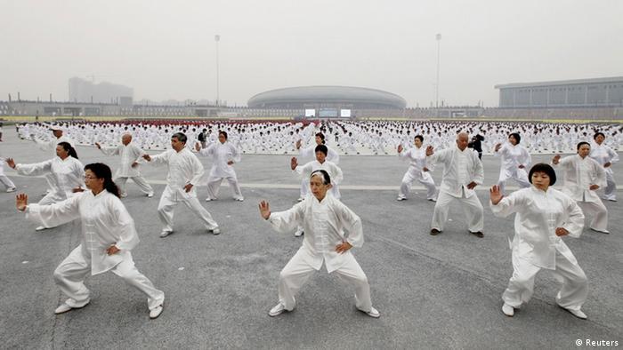 China Weltrekord Tai Chi (Reuters)