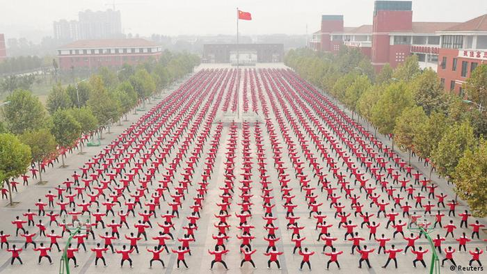 China Weltrekord Tai Chi