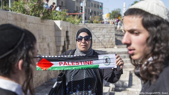 Jews and Arabs in East Jerusalem