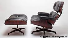 Eames Lounge Chair mit Ottomane
