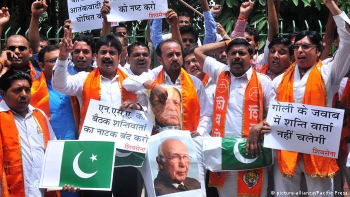 Archivbild Shiv Sena Aktivisten