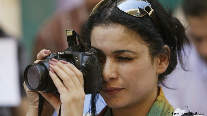 Фотожурналистка