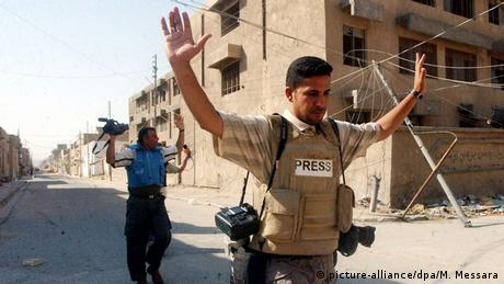 Irak Pressefreiheit Symbolbild (picture-alliance/dpa/M. Messara)