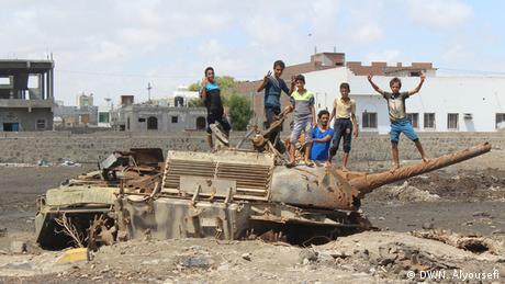 Alltag im Krieg Aden