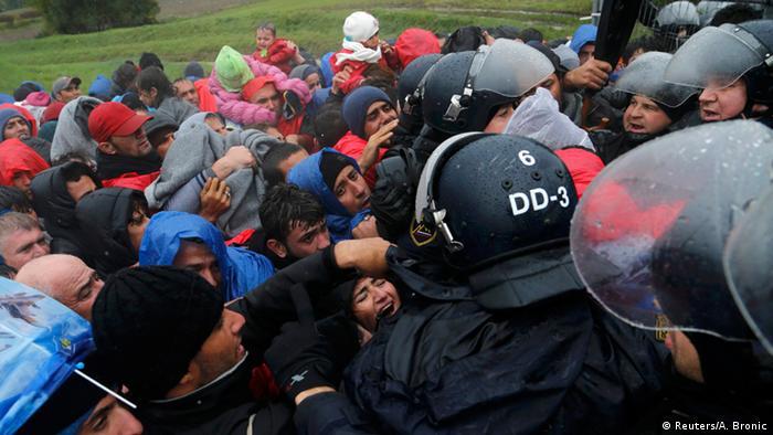 Slowenien Kroatien Flüchtlingskrise