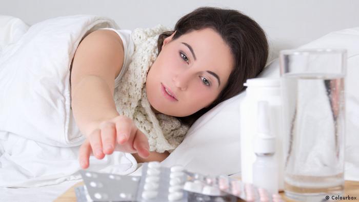 Symbolbild Erkältung Arzneimittel