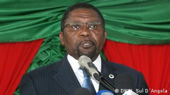 Angola - UNITA Parteiführer Isaias Samakuva