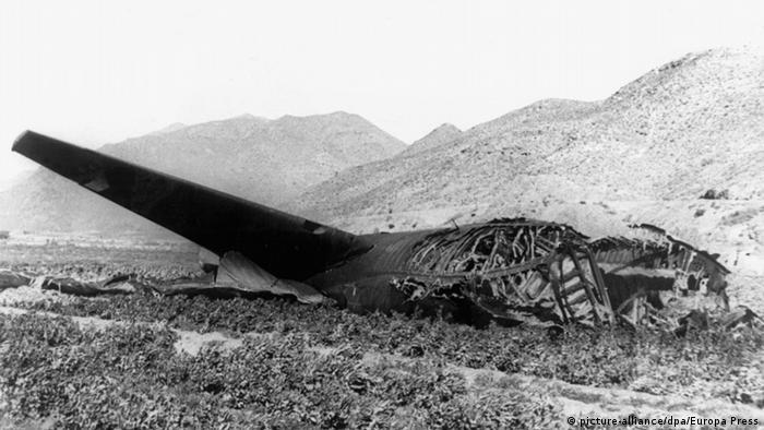 Spanien USA Wrack B-52-Bomber