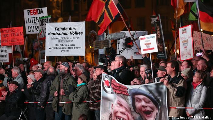 Прихильники руху Pegida називають провідних політиків країни ворогами німецького народу