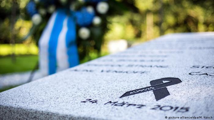 Haltern am See - Gedenktafel für die Opfer von Flug 4U9525
