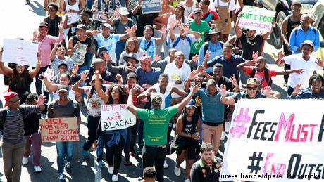 Südafrika Studentenproteste