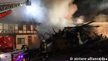 Wohnhaus-Brand im hessischen Gudensberg