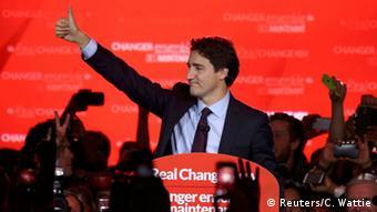 Kanada Parlamentswahlen Justin Trudeau