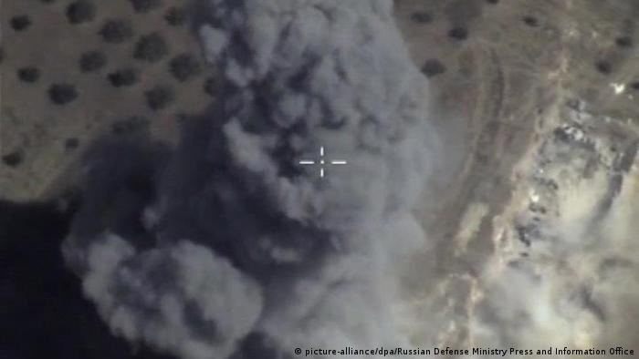 Russian aistrike on Syria