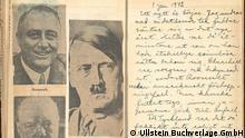 S 194/195 Tagebuch (mit Hitler-Bild) keine weiteren Angaben geliefert