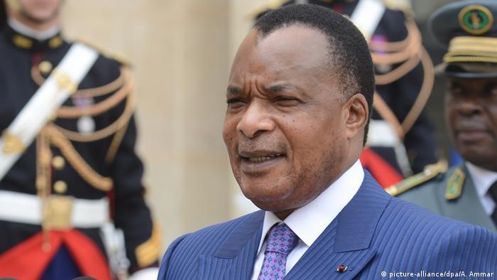 Denis Sassou Nguesso Kongo Afrika Präsident