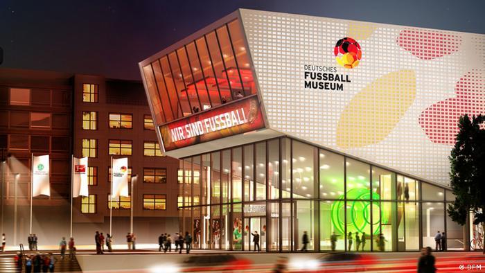 Deutsches Fußball Museum Dortmund Modell
