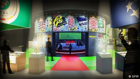 Dortmund Deutsches Fußball Museum Bundesligakarussell