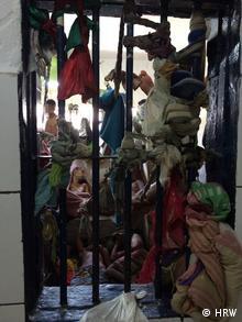 Braslien Insassen vom Gefängnissystem in Pernambuco